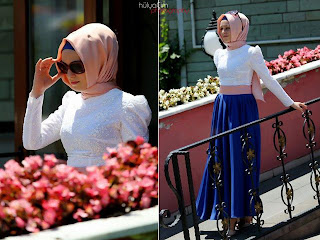 nisa moda 2014 tesett%C3%BCr Elbise modelleri102 nisamoda 2014, 2013 2014 sonbahar kış nisamoda tesettür elbise modelleri