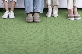 Swedish Study Shows Carpet is Better for Your Feet
