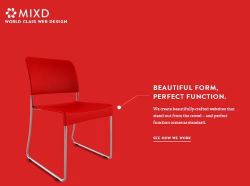 Landing Page Designs – Minimal Design