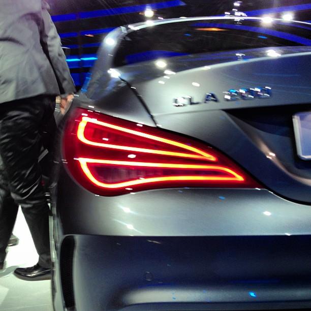 DETROIT 2013: Bilder des neuen Mercedes-Benz CLA