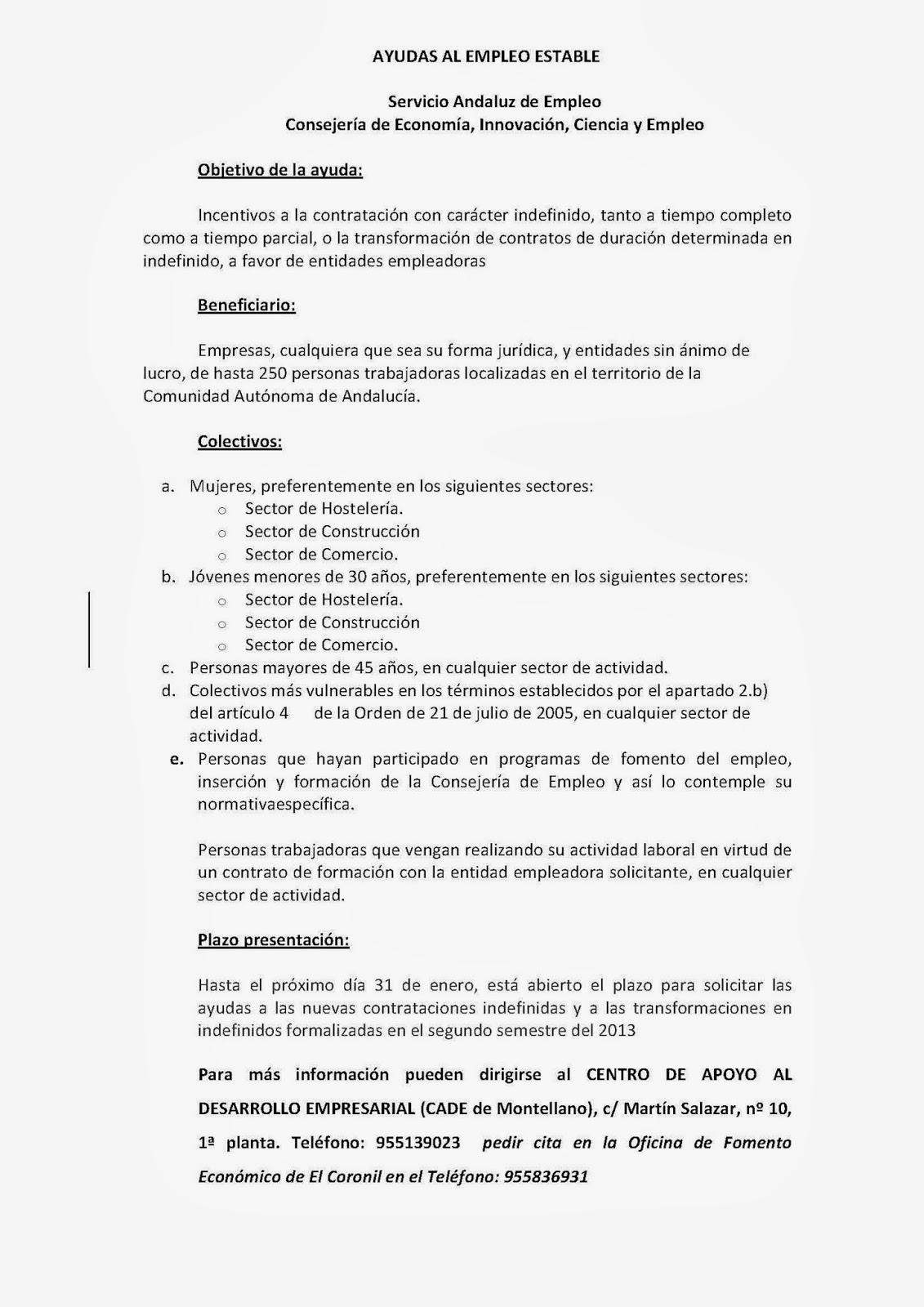 Ofe #ElCoronil (Sevilla): 2014