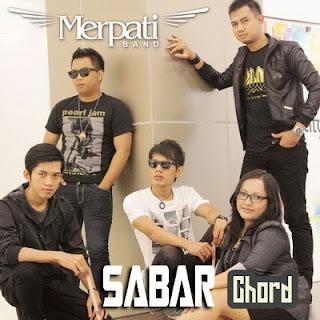 Chord dan Lirik Merpati Band - Sabar