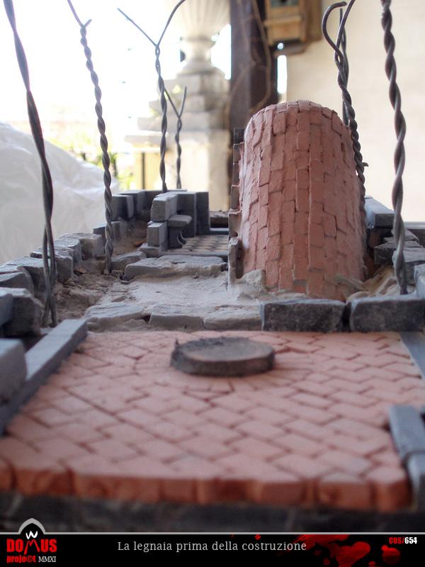 Domus project costruzione 72 il sottoscala 1 for Legnaia con ripostiglio