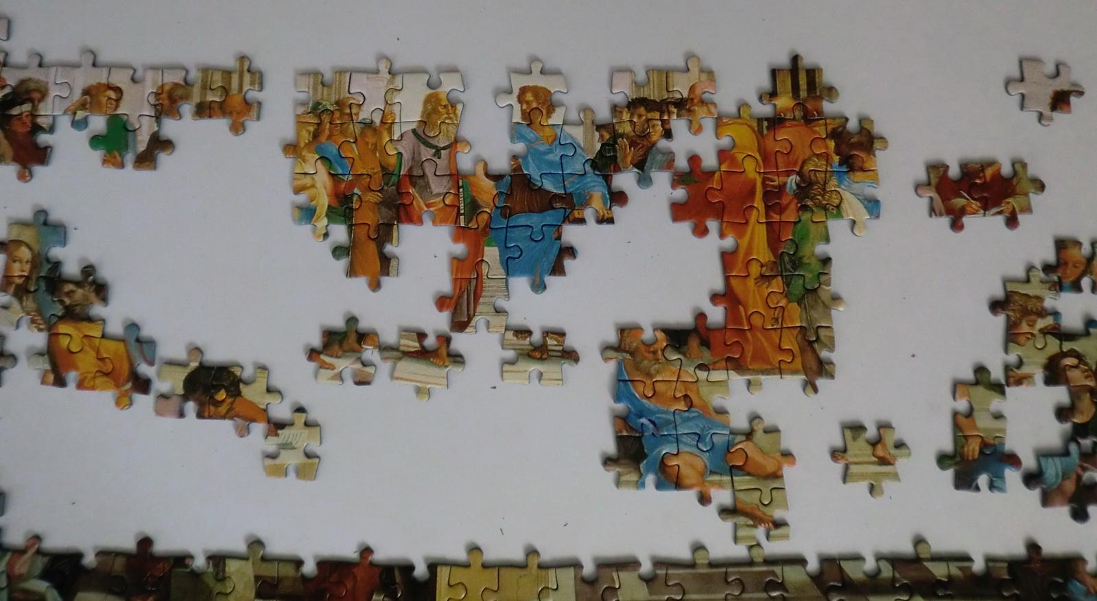 Escuela de Atenas I - 1000 piezas | Mis Puzzles