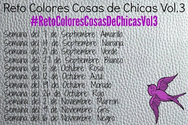 Reto Colores Cosas de Chicas Vol. 3