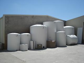 Desinfectar un depósito de agua