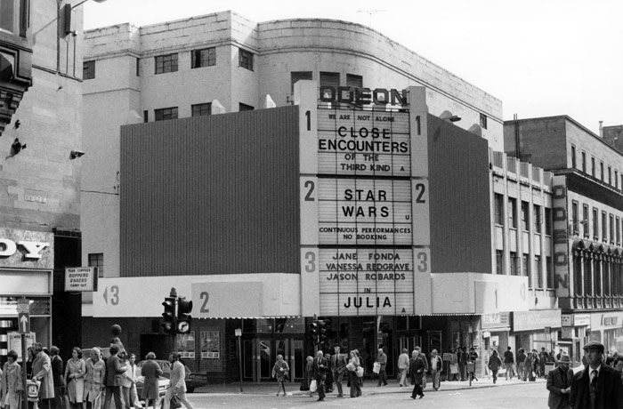 Bruce Peter S Blog The Odeon Cinema In Glasgow