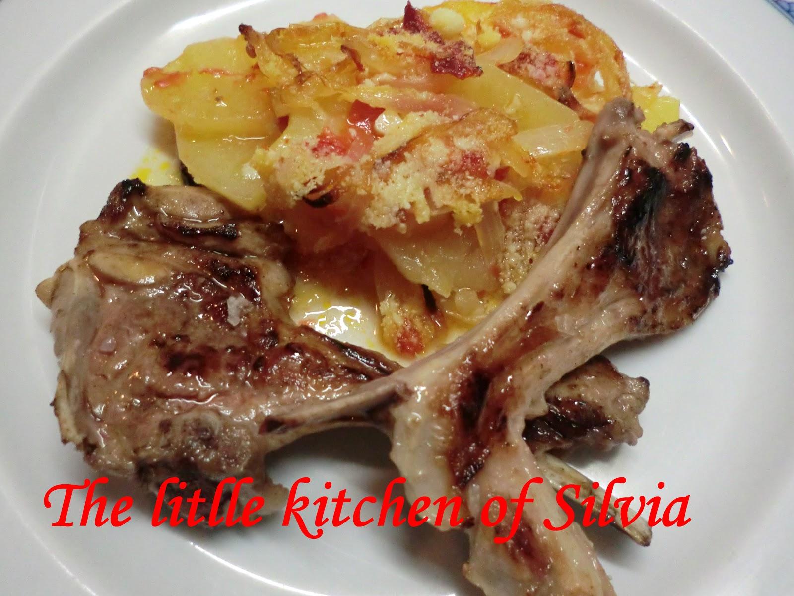 Patatas al horno recetas de cocina - Patatas pequenas al horno ...