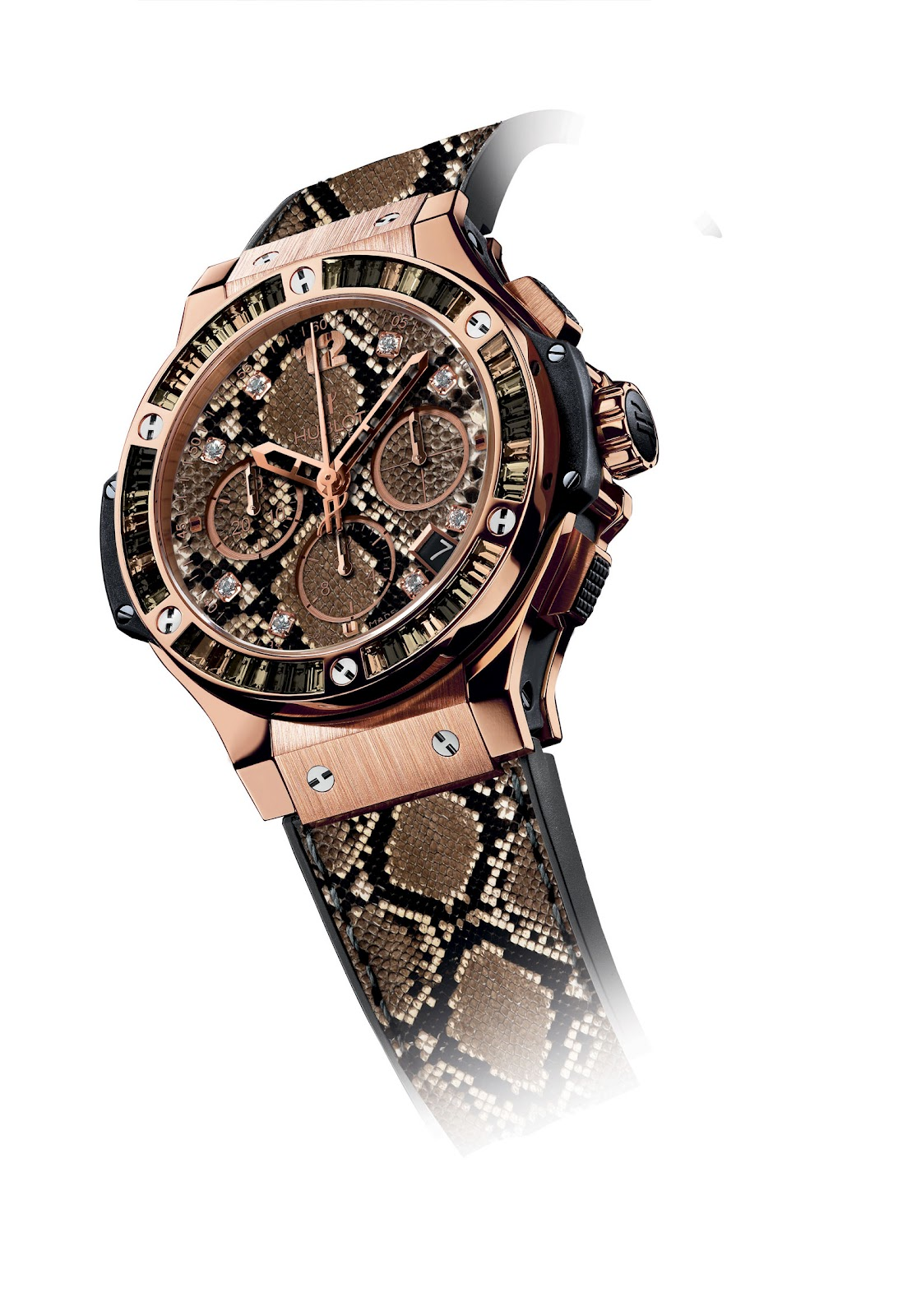 how to put on a hublot watch