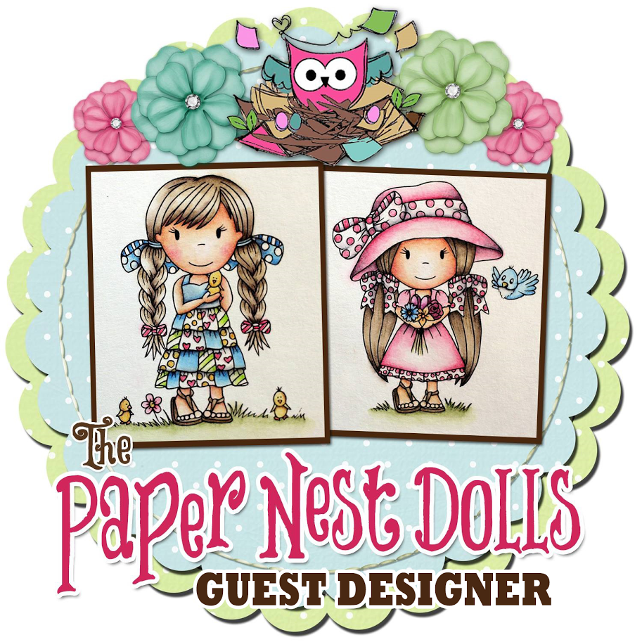 I´m a Guest Designer at PaperNestDolls