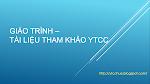 Giao trinh - Tai lieu YTCC