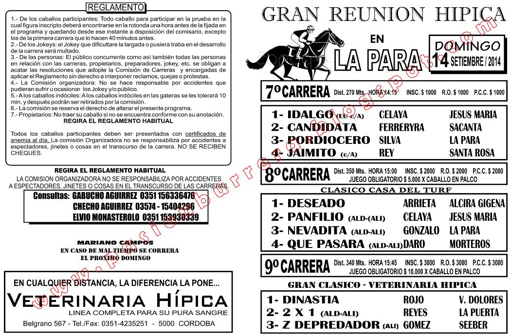 LA PARA - 14 - TAPA