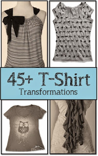 diy t-shirt refashions