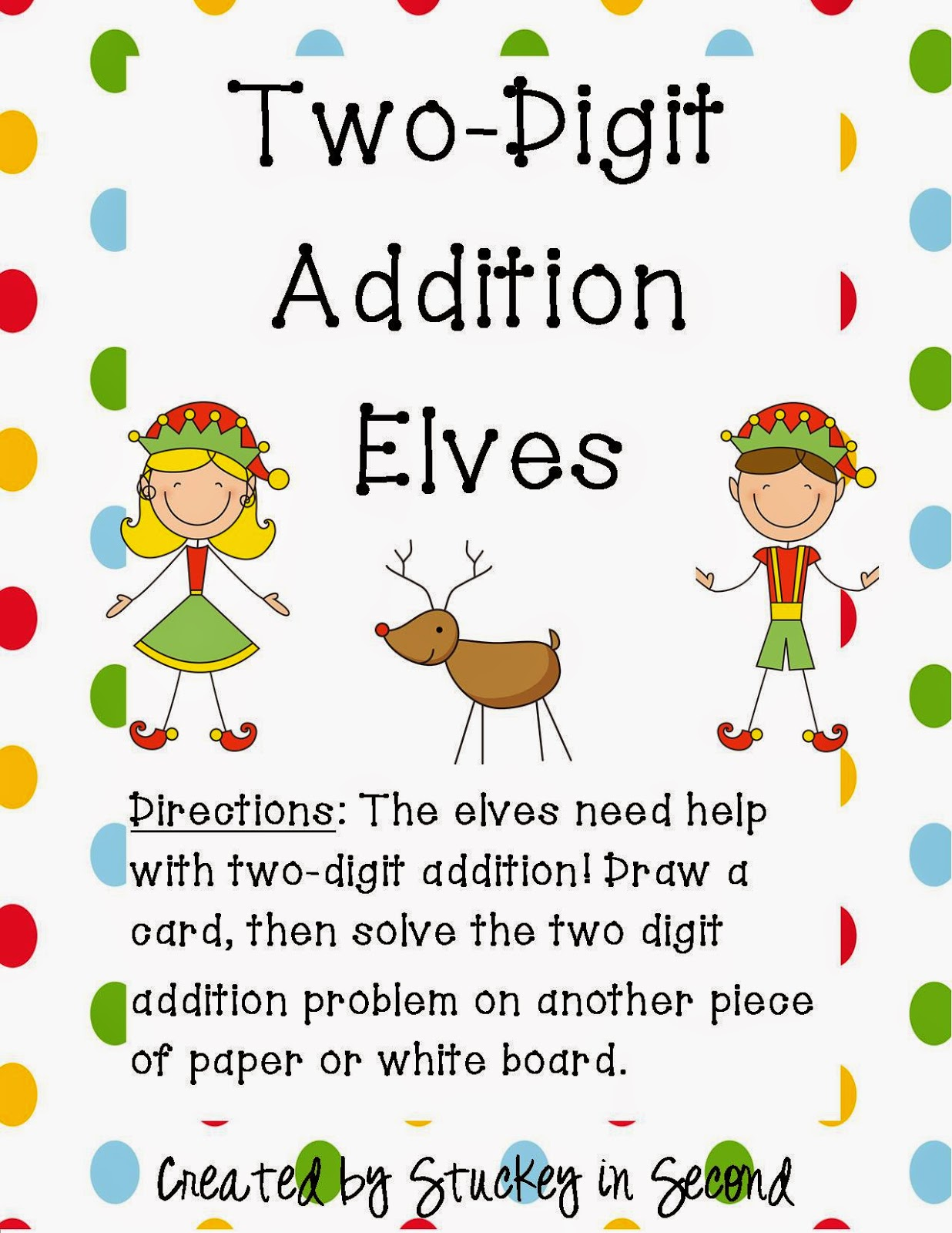 http://www.teacherspayteachers.com/Product/Two-Digit-Elf-Math-Centers-2-Centers-423757