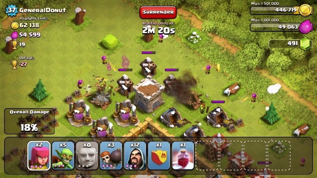 how to grow gem box in clash of clans