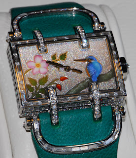 Montre DeLaneau Atame Miniature Martin-pêcheur