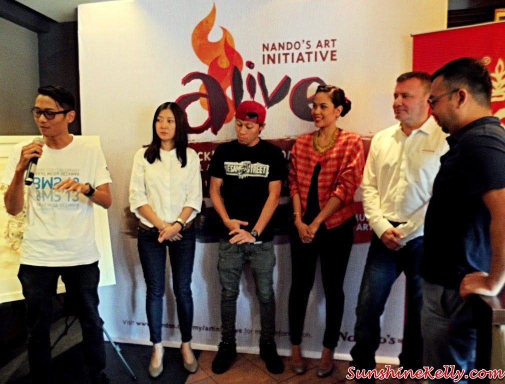 Nando's Art Initiative 2014, Alive