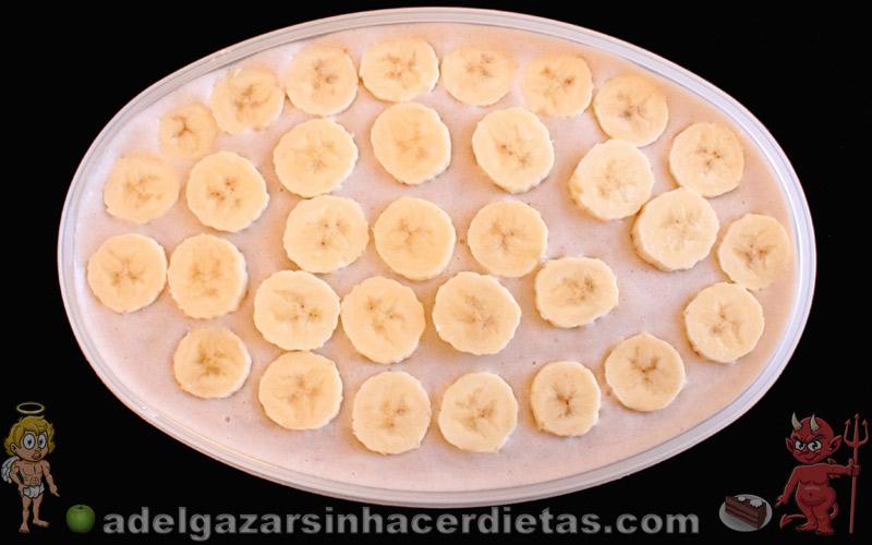 Helado de plátano o banana