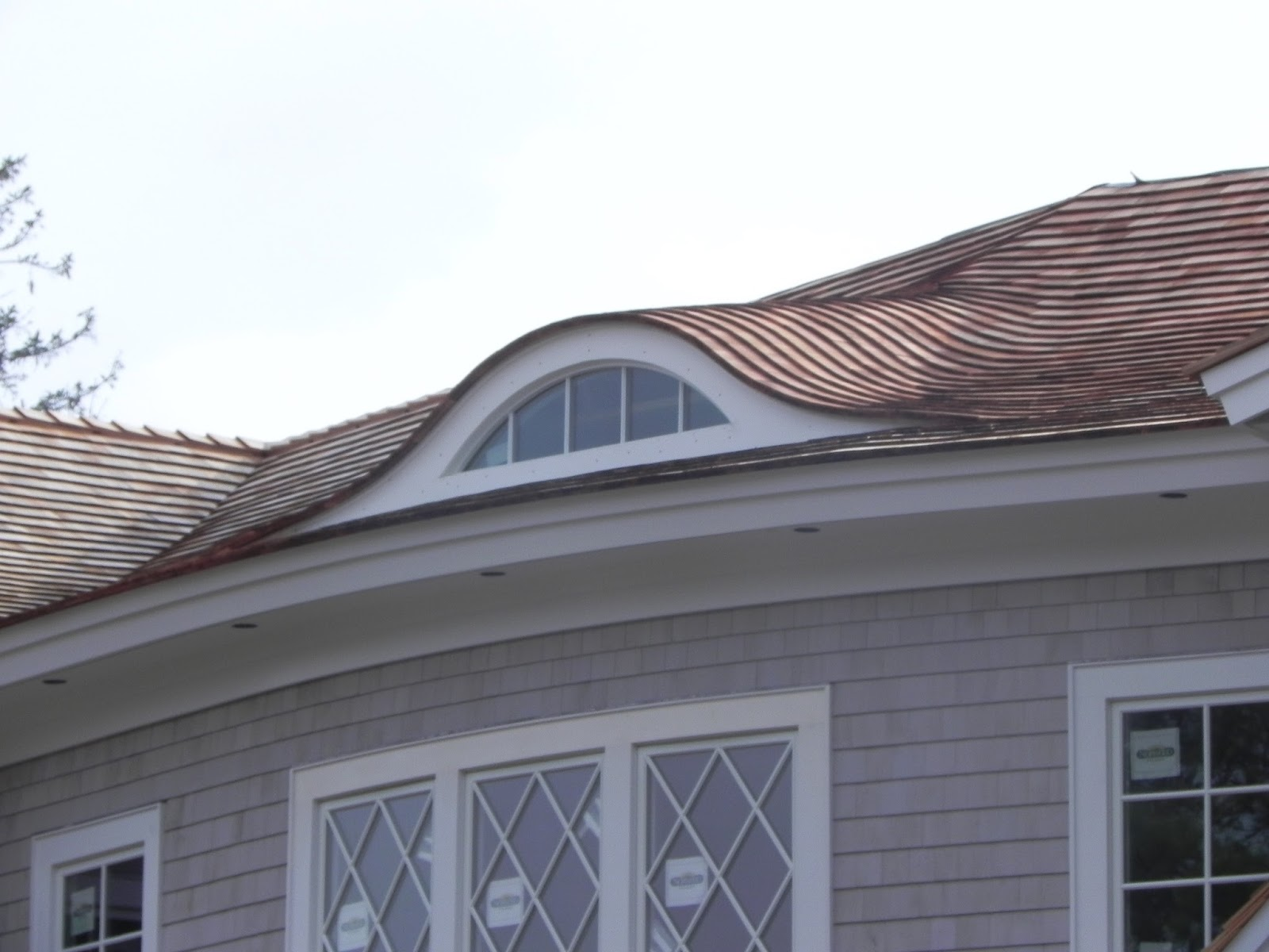 Eyebrow window dormer for Eyebrow dormer windows