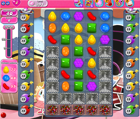 Candy Crush Saga 391