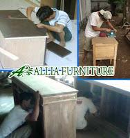 Proses Finishing Furniture Melamine Pembuatan Mebel