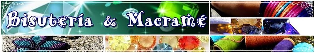 Bisuteria y Macrame