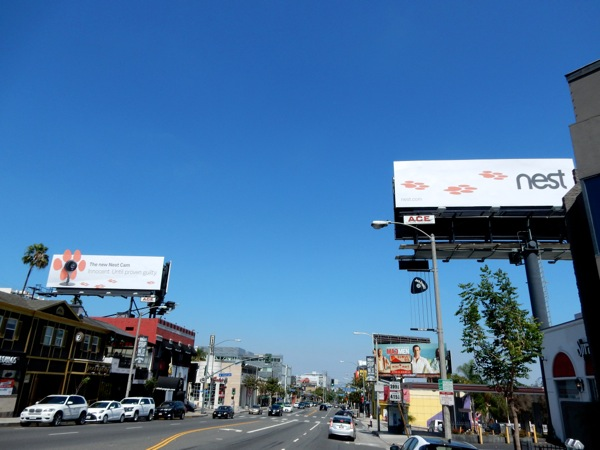 Nest Cam Innocent Until proven guilty paw print billboards