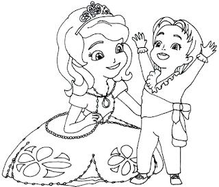 Coloring Putri Sofia