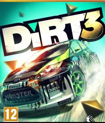 Dirt 3 Pc game Cover