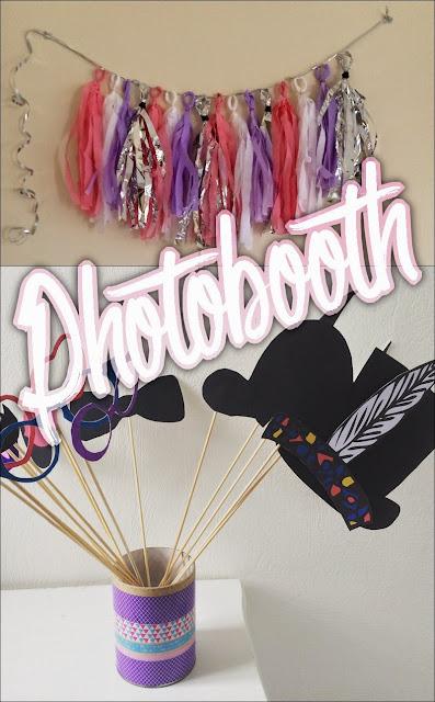 photobooth fond et accessoires
