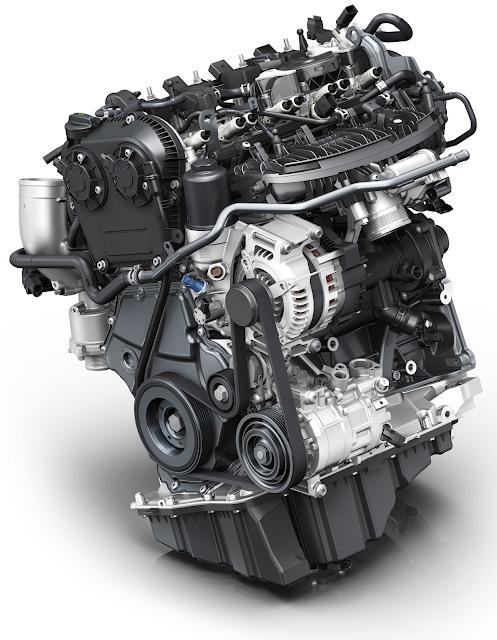New Audi 2.0 TFSI engine 190 hp 320 Nm