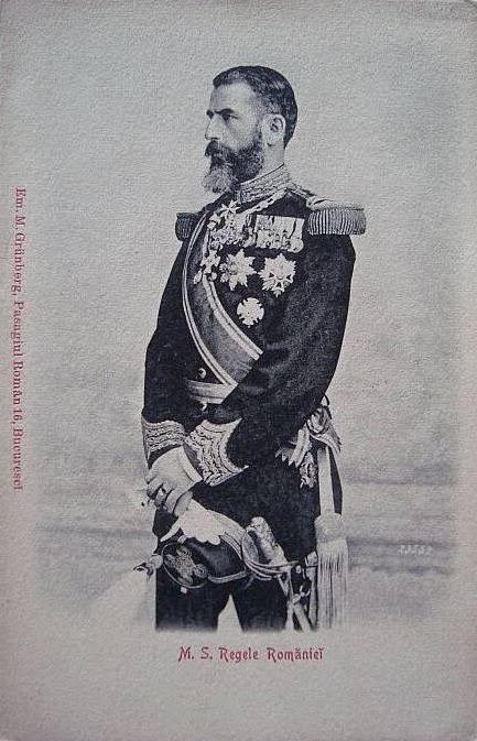 Regele Carol I in uniforma militara