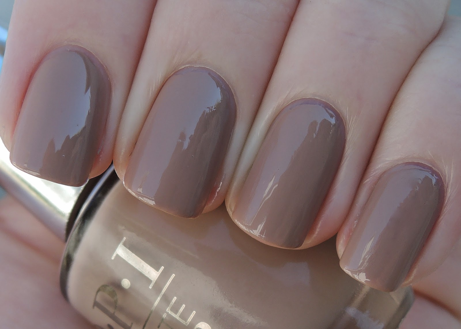 OPI Infinite Shine Tanacious Spirit