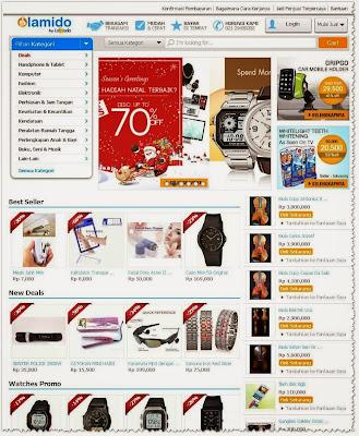 Lamido - Situs jual beli (marketplace) Indonesia