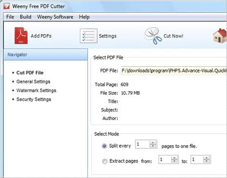 HOW TO SPLIT PDF FILES