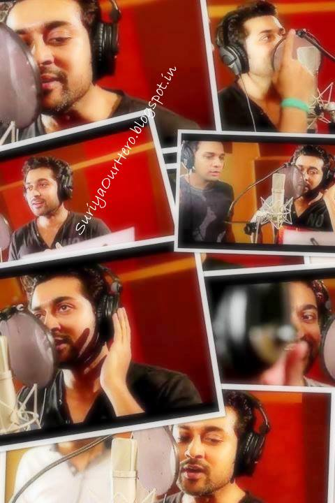 surya singing first time in his career pics and image stills