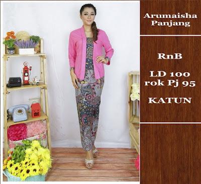 Baju Batik Gamis (Muslim) Arumaisha Dbg-692