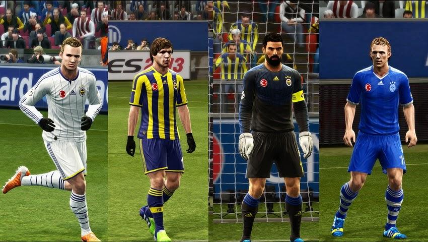 PES 2013 Fenerbahçe S K GDB 2014-15 by Vulcanzero