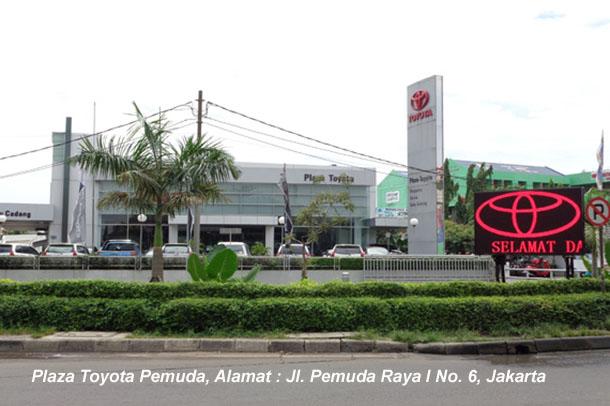 Plaza Toyota Pemuda, Alamat : Jl. Pemuda Raya I No. 6, Jakarta