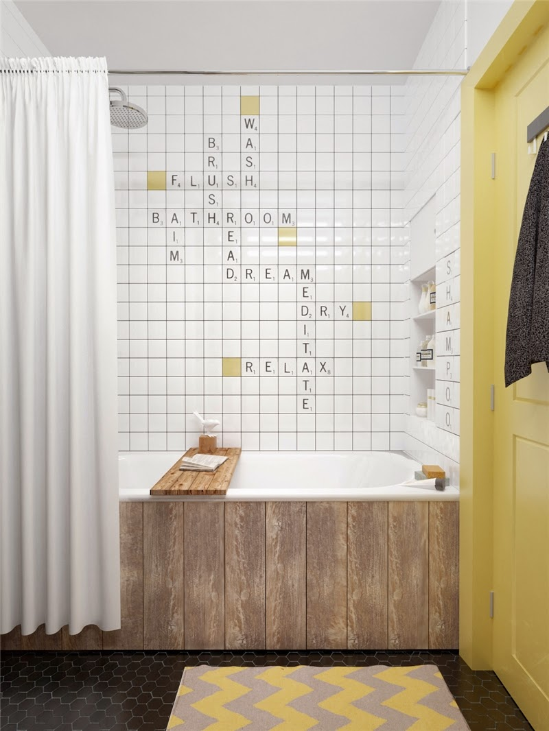 Modernes Mid-Century Design mit raffinierten Stauraum-Lösungen mit Hilfe von IKEA