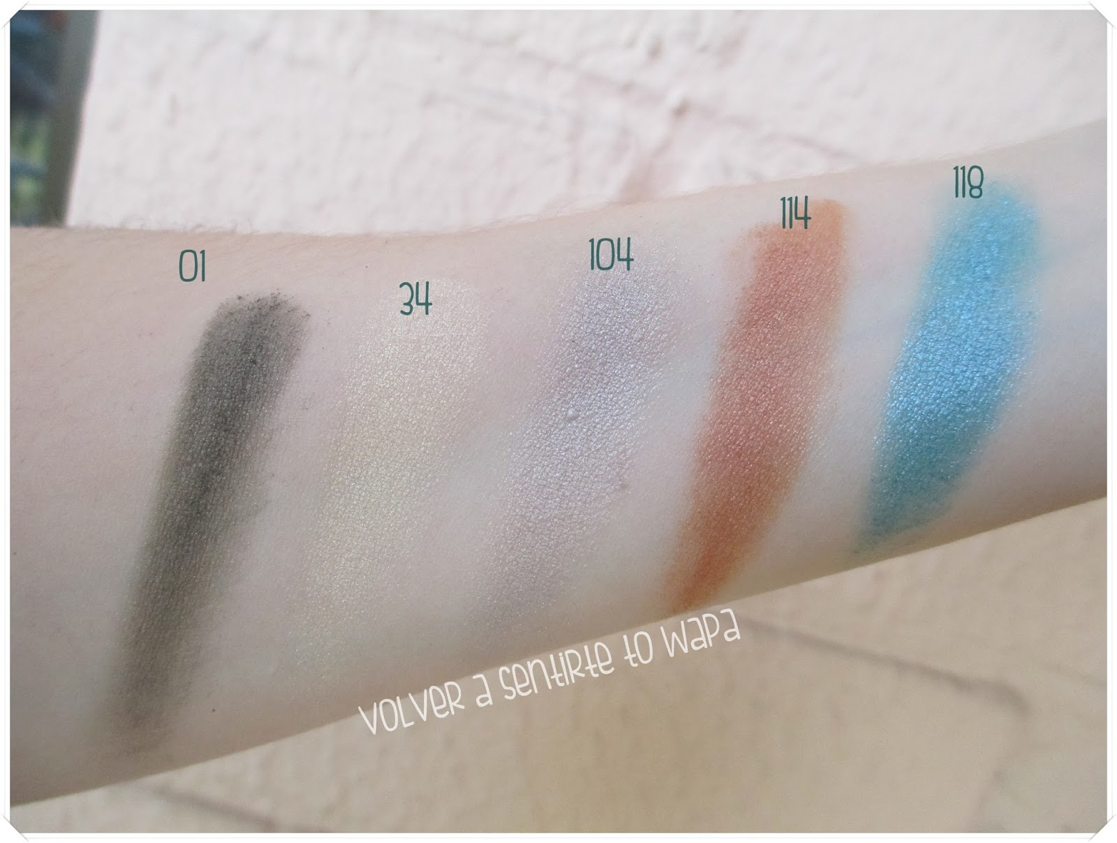 Pierre René - Single Eyeshadow {Review & Swatches & Maquillaje}