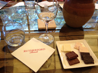 Chocolate and Wine Tasting at Rutherford Ranch