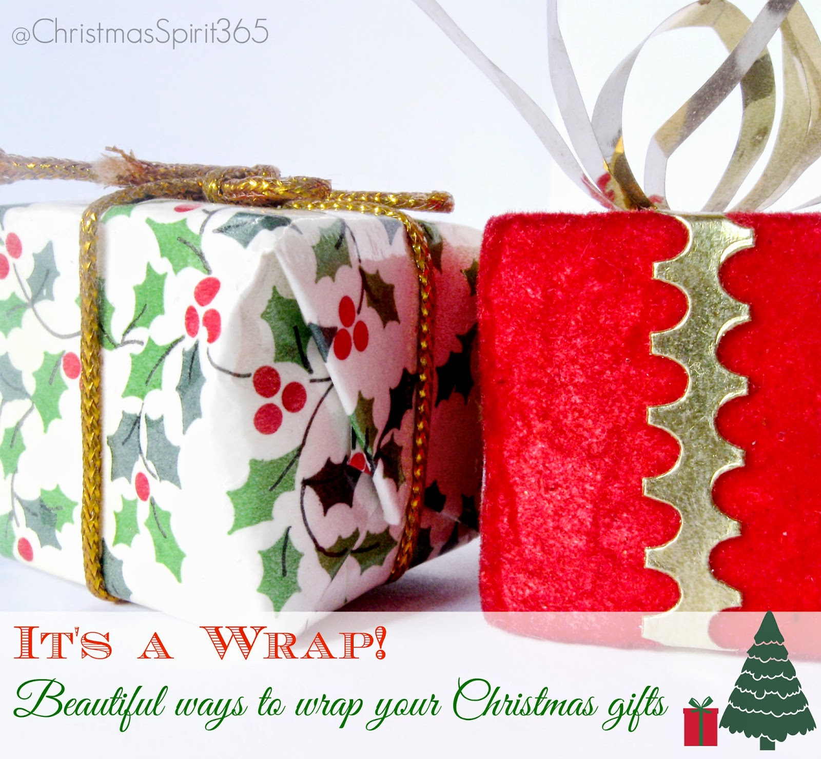 It's a Wrap: Interesting ways to wrap your Christmas and Holiday gifts (part 2)
