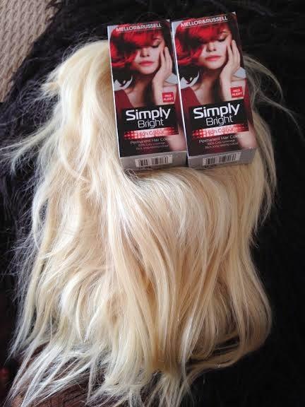 Tashya Kawaii: Mellor & Russell Simply Bright Red Alert Hair Dye ...
