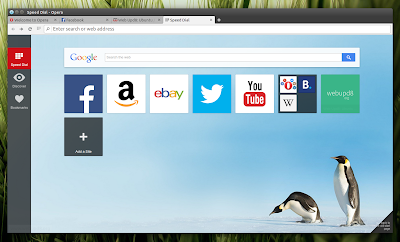 Opera 25 Linux