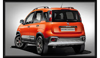 Young and Dynamic 2015 Fiat Panda Cross