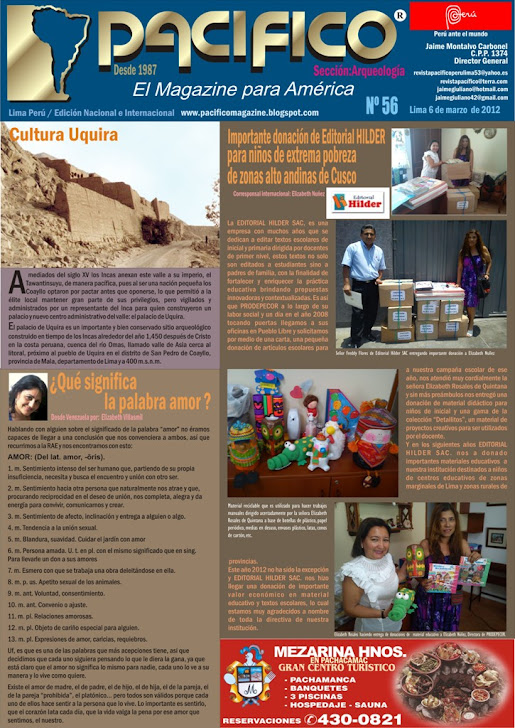 Revista Pacífico Nº 56 Arqueología