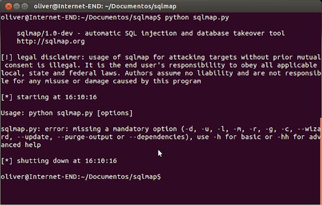 sqlmap en ubuntu
