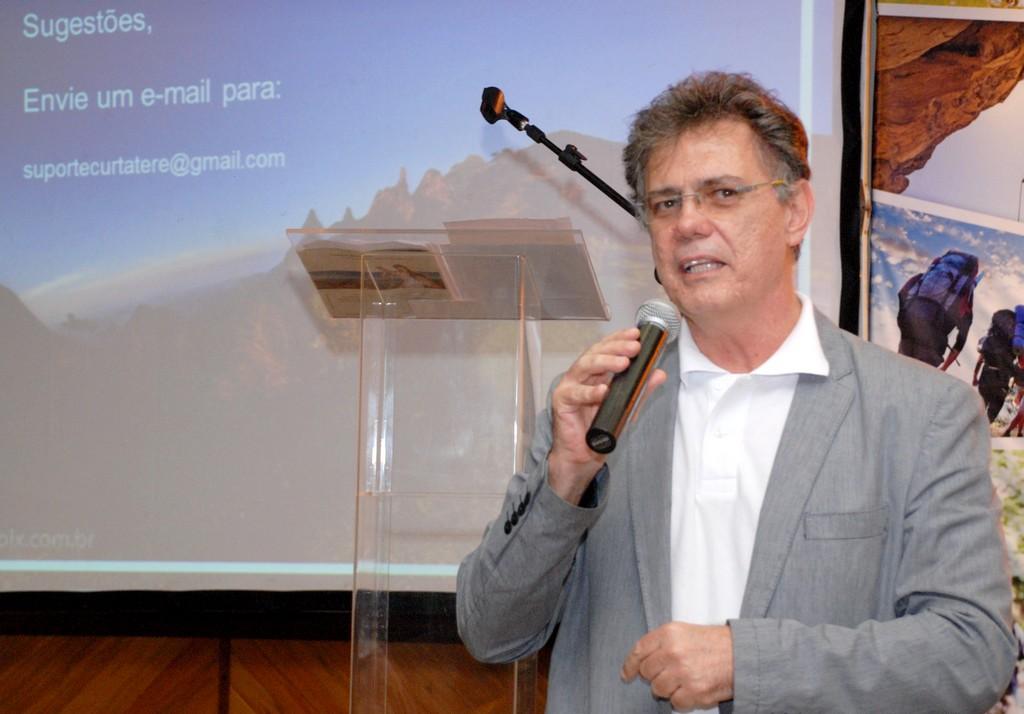 Secretário de Estado de Turismo Ronald Ázaro abre a segunda parte da programação do Seminário Teresopolitano de Turismo