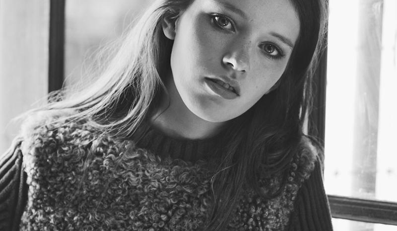 Lottie Hayes By Alan Clarke For Flaunt July 2015